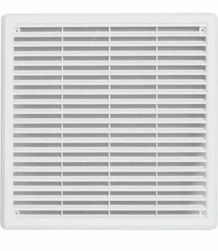 Air Vent Grille Covers Louvre Ventilation Grill Cover />ALL SIZES/< White /& Brown