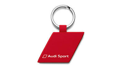 Genuine Audi Sport Red Key Ring