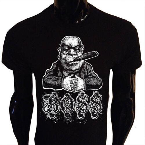 Boss T-Shirt Mens S-5XL Smoking Cigar Manager Money B01