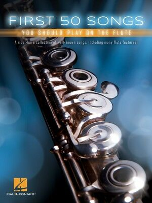 Instruction Books, Cds & Video First 50 Songs You Should Play On The Flute Instrumental Folio Book 000248843 To Help Digest Greasy Food Wind & Woodwinds