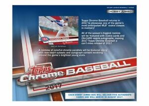 2017-Topps-Chrome-Baseball-Complete-Your-Set-Pick-25-Cards-From-List