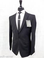 Suit Saver Jeff Banks Black Slim Fit Suit 38 40 42 44 NS20