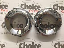 Genuine Vauxhall Vectra VXR C Fog Lamp Chrome Rings 93186621