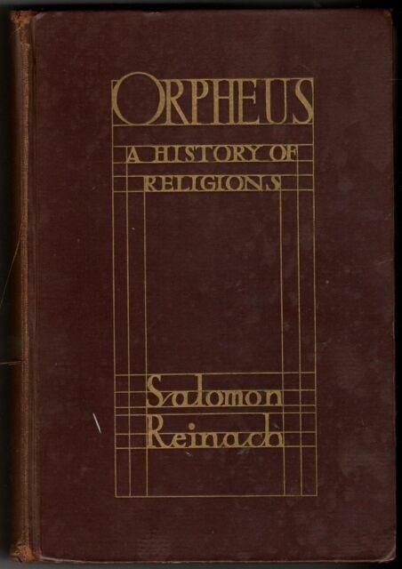 laboratorio lattuga Anoi  Orpheus a History of Religions by Salomon Reinach. for sale online | eBay