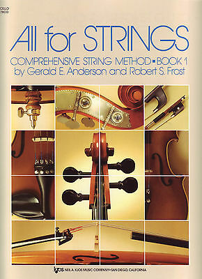All for Strings Book 1 - Cello - Anderson/Frost - 78CO