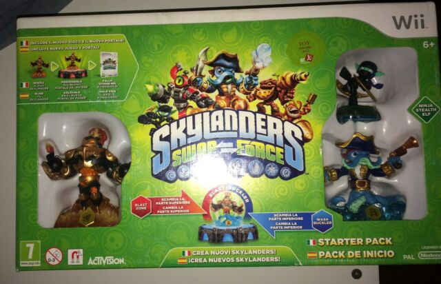 Skylanders Swap Force Starter Pack Nintendo WII ACTIVISION