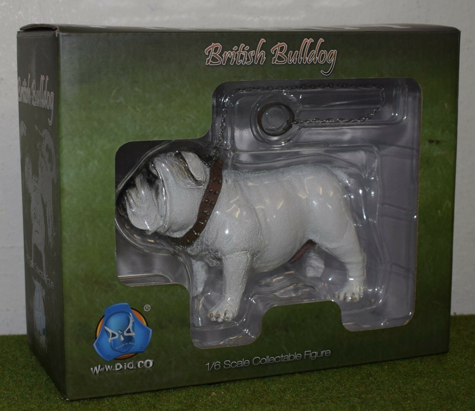 DRAGON IN DREAMS DID 3-R 1 6 SCALE ANIMAL SERIES DOG BRITISH BULLDOGS - AS002D