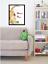 Welcome-Home-Calico-Kitty-Cat-Red-Flowers-Home-Folk-Art-Wall-Art-Print miniature 4