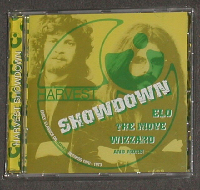 ELECTRIC LIGHT ORCHESTRA THE MOVE ROY WOOD Harvest Showdown CD 2005 EMI MINT OOP