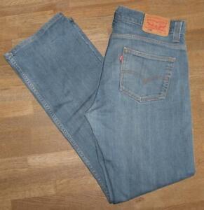 """Joli Levi `S 506 D' Homme Jeans / Levis Bleu Jeans en Bleu W34 """" / L34 """""""