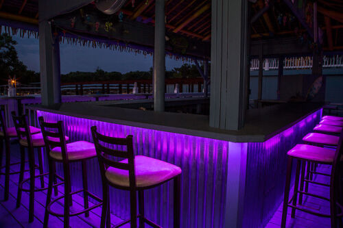 Home Cocktail or Tiki Bar Accent Lighting LED Remote Control Color Select NEW