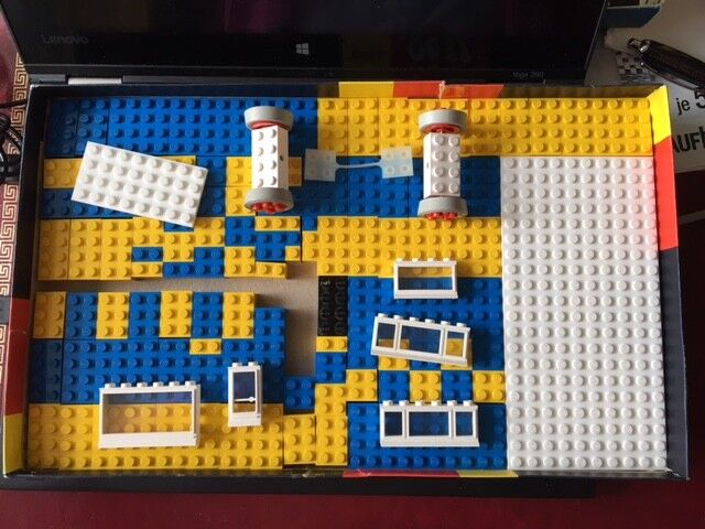 Lego System 700 3 128 Teile, 60er Jahre