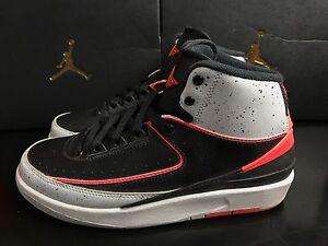 sale retailer 4ef2b fdf73 Image is loading Nike-Air-Jordan-2-Retro-BG-Trainers-Shoes-