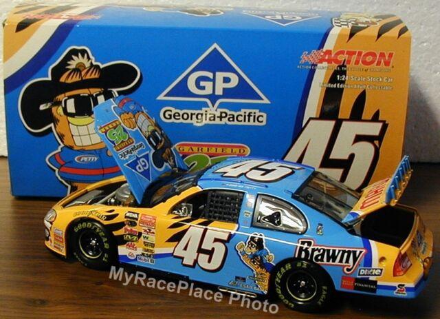 #45 Kyle Petty 1/24 Action NASCAR Diecast Stock Car _ GEORGIA PACIFIC *GARFIELD*