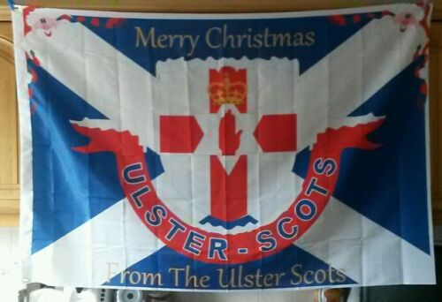 Merry  Christmas  from the ulster  scots   flag orange order loyalist rangers
