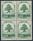 Lebanon 405 block/4,MNH.Michel 875. Cedar of Lebanon,1963.