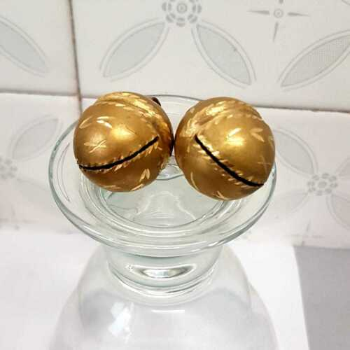 Falconry Cat Bells  jewelled Bells Golden Pair Excellent Sound Quality. Dog