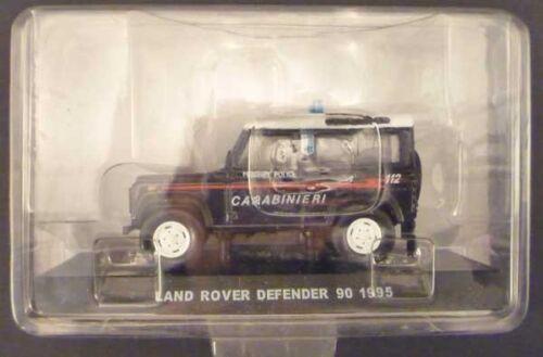 CARABINIERI Land Rover DEFENDER 90 1995 SFOR 1//43 Centauria die cast model seal.