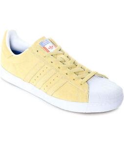 Adidas Superstar Vulc ADV hombres casual zapatos amarillo pastel cg4838 eBay