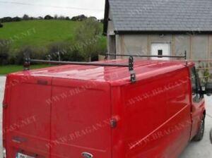 Pour-2007-2014-ford-Transit-Mk7-Barres-de-Toit-Rails-Camionnette-2-Barre