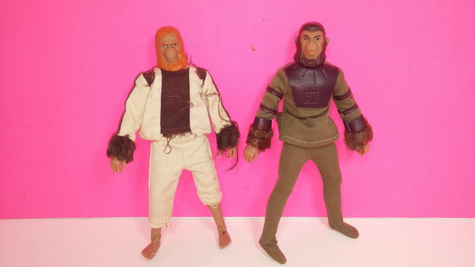 Mego Planet of The Apes Cornelius   Dr. Zaius Vintage Action Figure Doll Lot