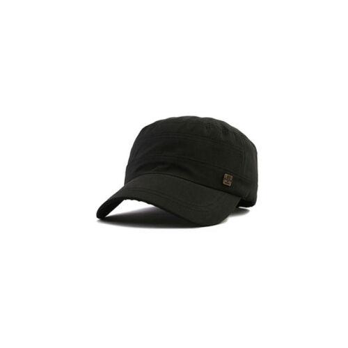 Unisex Mens XL XXL 2XL 61~64Cm Mqum Blank Plain Military Cadet Cap Trucker Hats