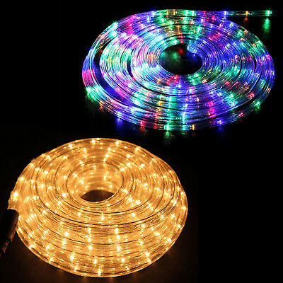 outlet store fa669 d3d79 20m 30m Rope Tube Lights 480 720 LED Outdoor Home Garden Christmas  Decoration   eBay