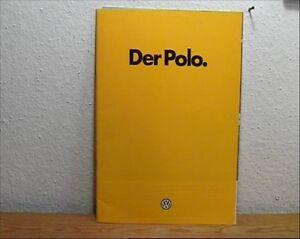 100% De Qualité 2 Vieux Prospectus Vw Polo Et Vw Polo Coupé-afficher Le Titre D'origine