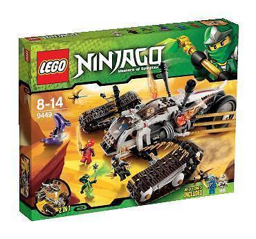 LEGO 9449 Ninjago Ultra Sonic Raider New Factory Sealed 622 pcs Ages 8-14