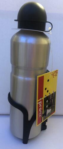 Fahrrad Trinkflasche Alu 0,6 ltr Mit Halter von Profex