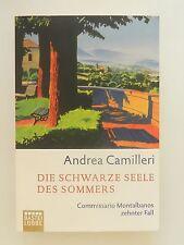 Andrea Camilleri Die schwarze Seele des Sommers Montabanos zehnter Fall