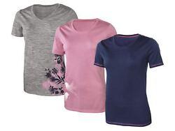 Damen Merino Funktionsshirt M L XL reine Merinowolle T-Shirt Sportshirt Shirt