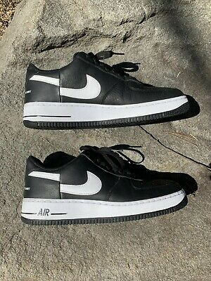 Supreme Comme des Garcons SHIRT Nike Air Force 1 Low Size 9.5 Black AR7623 001   eBay