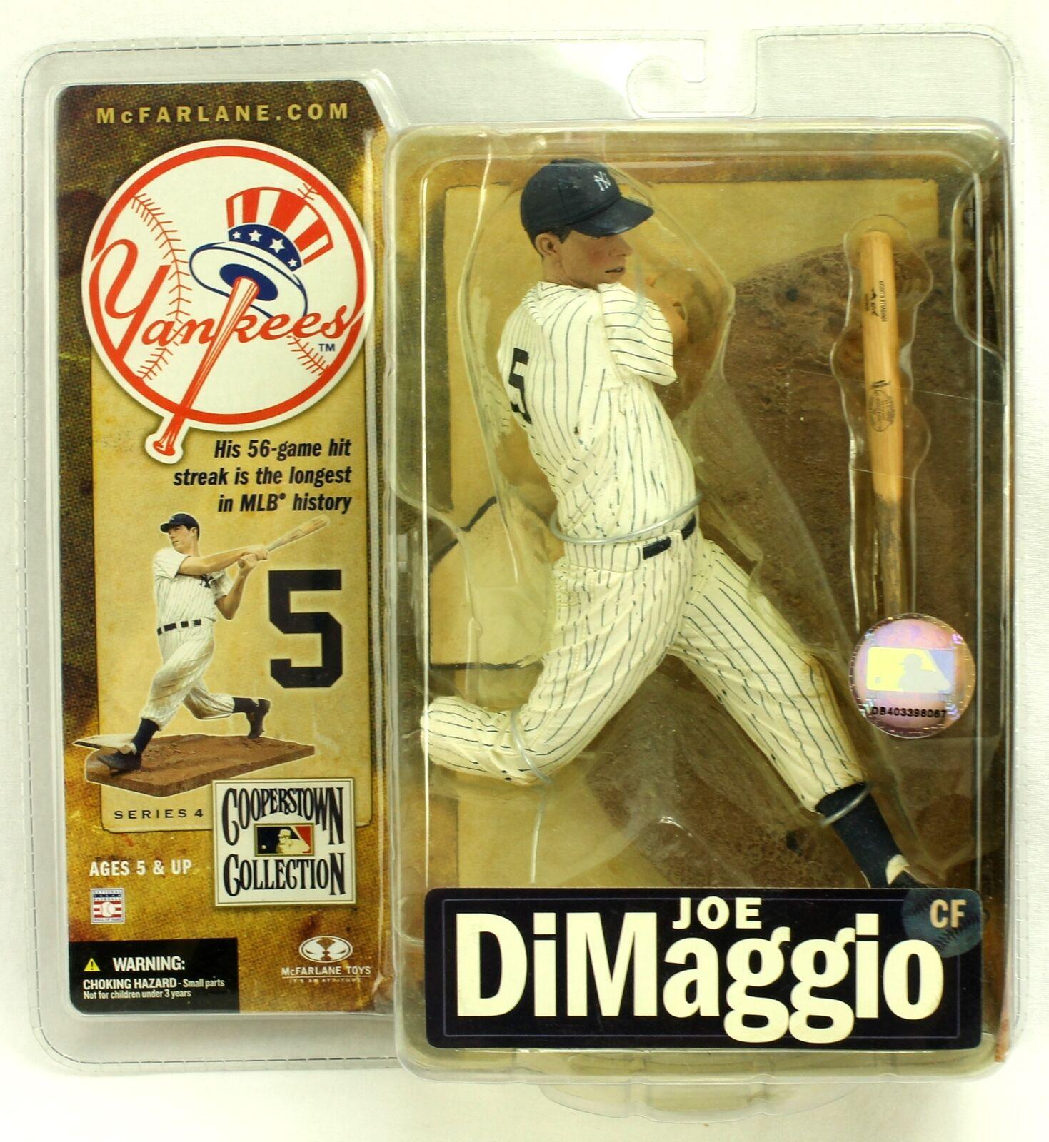 JOE DIMAGGIO New York Yankees McFarlane Cooperstown Series 4 Figure 2007