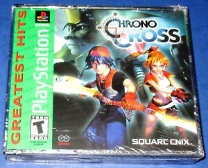 Details about Chrono Cross Greatest Hits Sony PSX *New! *Sealed! *Free  Shipping!