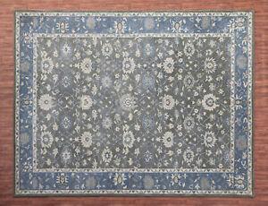 Ballard-Montana-Gray-Oriental-Parsian-Style-Handmade-100-Wool-Rug-amp-Carpet