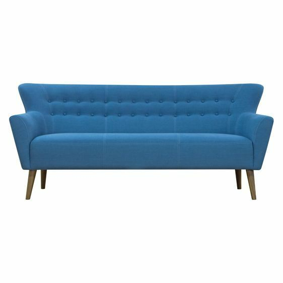 NEW Zanui Emil Petrol 3 Seater Sofa