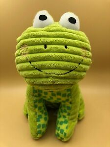 Toys-R-Us-Lime-Green-Frog-Plush-Kids-Soft-Stuffed-Toy-Doll-Jingles-Animal-Baby