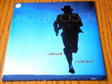 "MICHAEL JACKSON - SMOOTH CRIMINAL  7"" VINYL PS"