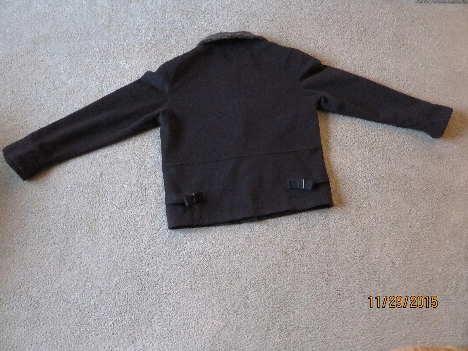 Bridgewater Classics Women's Brown Wool Coat Coat Coat size 8 49b816