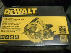 """DEWALT DWE575SB 7-1/4"""" Circular Saw With Brake New"""