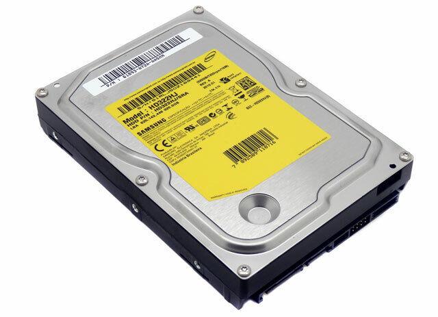 Samsung Spinpoint F1 320GB 7200RPM SATA 3.0GB/s HDD HD322HJ/SRA