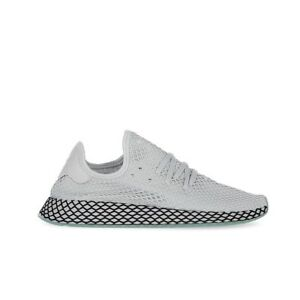 promo code aa088 ac1d1 Image is loading Adidas-Originals-Deerupt-Runner-Grey-Grey-Clear-Mint-