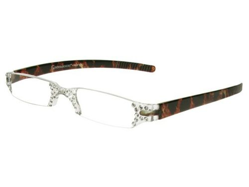 Reading Glasses 'Quartet Leopard Print Retro Unisex GL2174 Goodlookers