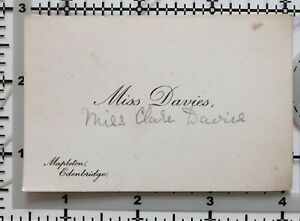 ANTIQUE-CALLING-CARD-MISS-DAVIES-MISS-CLAIRE