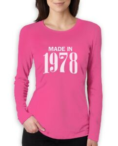 Image Is Loading 40th Birthday Gift Idea Made In 1978 Women