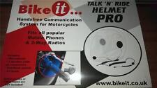 Talk and Ride Helmet Pro Motorcycle Scooter Speakers Microphone For Mobile Phone