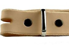 """Belt Keeper Nickel Solid Brass 1"""" 1126-12 for 1"""" Belts and Straps Tandy Leather"""