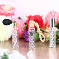Set 3 Refillable Perfume Atomiser Atomizer Aftershave Travel Spray Bottle 15ml