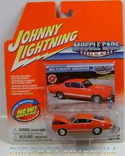 1968 '68 PLYMOUTH BARRACUDA CUDA MUSCLE CARS USA JOHNNY LIGHTNING DIECAST RARE